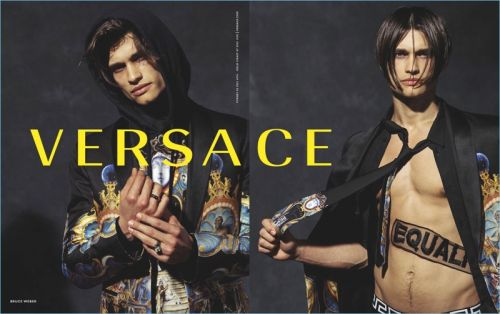 Versace Makes a Statement with Fall '17 Campaign