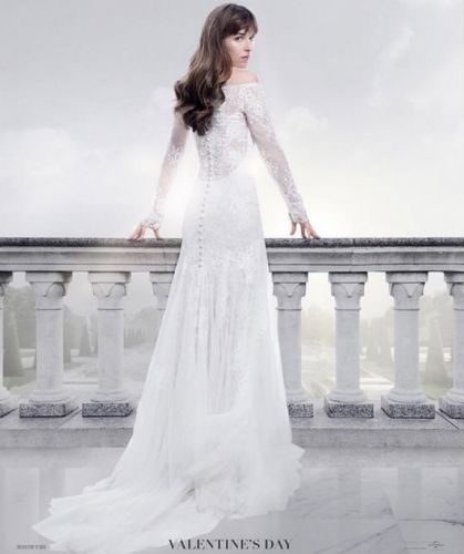 You Can Get Married In Ana's Exact Wedding Dress From 'Fifty Shades Freed'