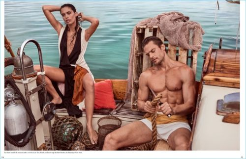 Jason Morgan Embraces Summer Vibes with Vogue México
