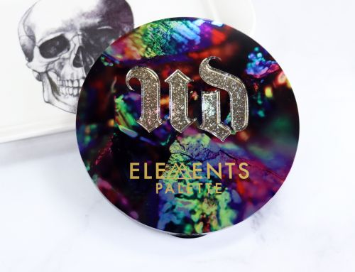 Urban Decay Elements Palette Review and Swatches