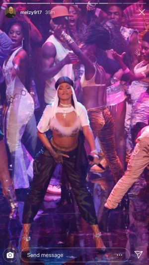 Rihanna's VMA Performance Outfits Involve The Prettiest Lingerie Trends