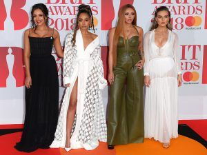 Why The BRITs Red Carpet Was A Little Awkward For Perrie Edwards