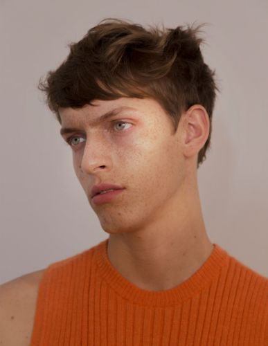 Oskar Dalsjo photographed by Carlos Onrubia, styled by Juan