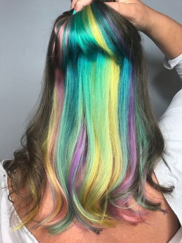 How to Get the Look: Tiffany Blair's Unicorn Inspired Hair