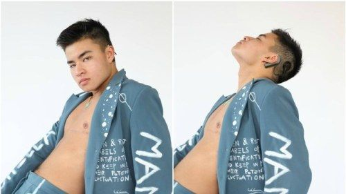 Chella Man Is the First Deaf Transgender Model to Sign to