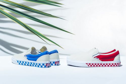 "BILLY'S & Vans Revive the ""Side Wall Check"" Slip-On"