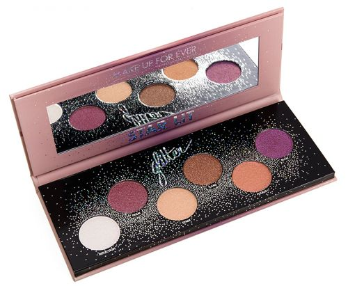 Make Up For Ever Star Lit Glitter Eyeshadow Palette Review, Photos, Swatches