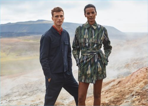 Clément Chabernaud Travels to Iceland for Mango's Fall '17 Committed Campaign