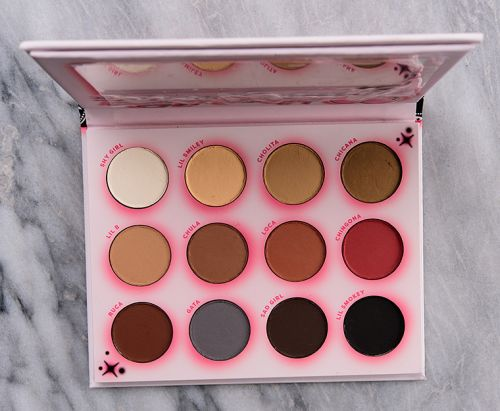 ColourPop Hola Chola Eyeshadow Palette Review & Swatches