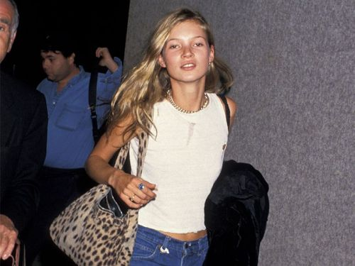 Kate Moss Low-Key Wore Every 2018 Trend in the '90s