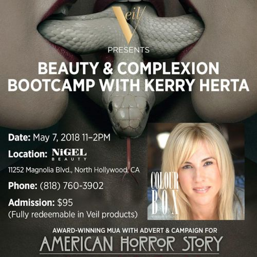 An Insider's Look: Beauty and Complexion Bootcamp with Makeup Artist Kerry Herta