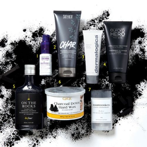 Charcoal-Infused Beauty Products Offer Advantages for Hair and Skin
