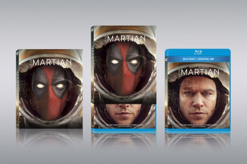 Deadpool Photobombs Popular Movies in Upcoming Blu-Ray Covers