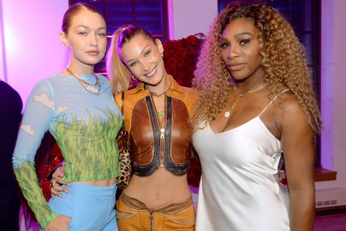 Celebrity Friends Support Serena Williams at Runway Show