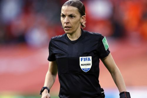 Stephanie Frappart Becomes First Female Official At European Championship