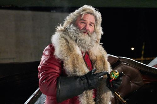 Kurt Russell's hip Santa leads Christmas TV special onslaught