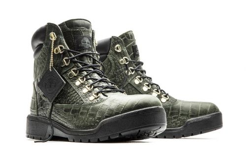 "Timberland Updates Its 6″ Field Boot With an Exotic ""Crocadylian"" Makeover"