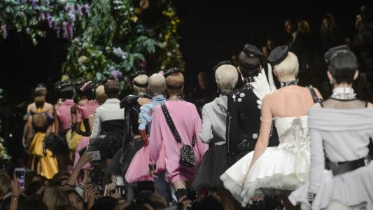 Moschino's Spring 2018 Show Had Everything: 'My Little Pony,' Tutus and Models Galore