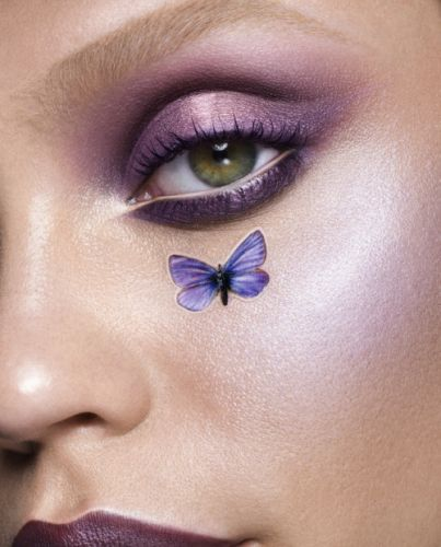 Monochromatic purple 💜. Get the look with cityminis eyeshadow