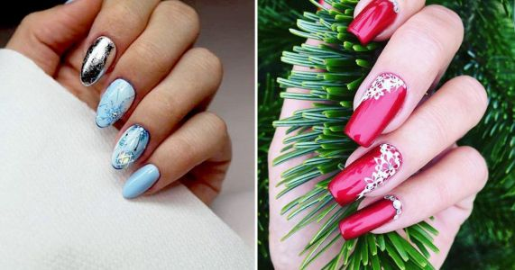 25 festive-themed nail designs for anyone wanting to go all out this Christmas