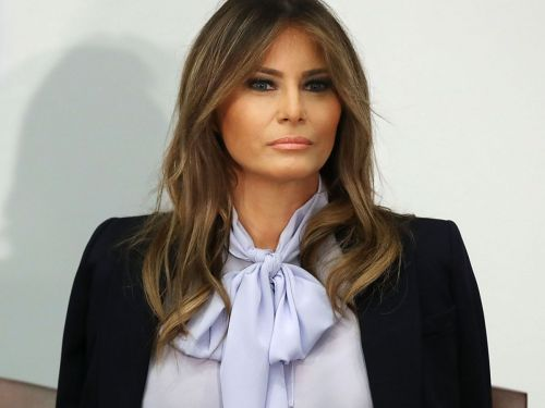 Melania Trump Talks Cyberbullying While Her Husband Lashes Out On Twitter
