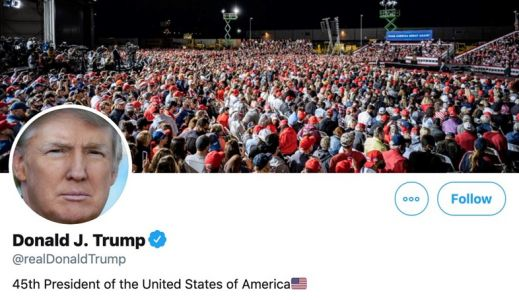 Trump's Twitter hacked by hacker who guessed password was 'maga2020!'