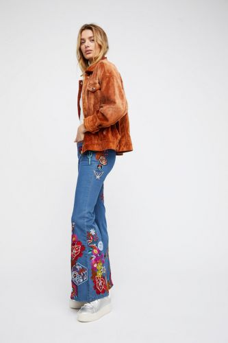 Why Embroidered Denim is All The Rage RN, Plus 11 Cool Pieces to Shop Now