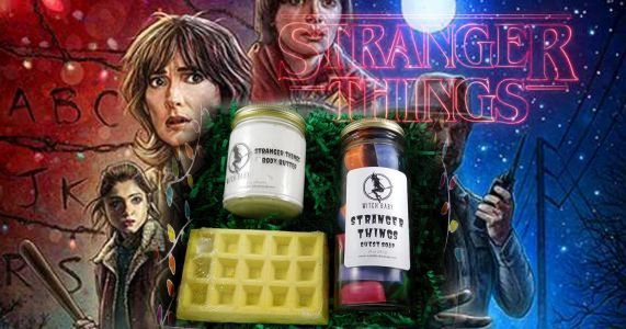 A Stranger Things bath set is here so you can take a soak in the Upside Down