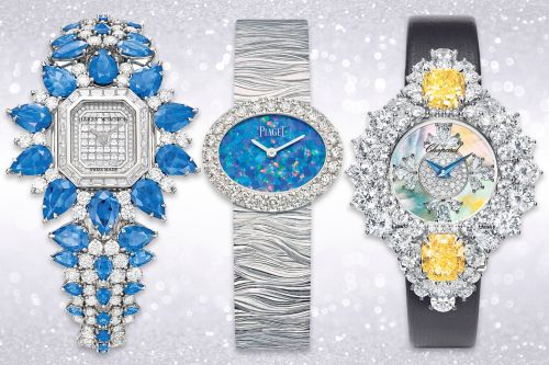 These blinged-out diamond watches are ready for the red carpet