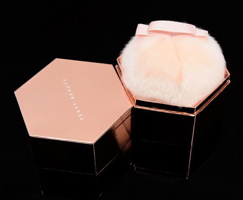 Fenty Beauty Rosé On Ice Fairy Bomb Glittering Pom Pom Review, Photos, Swatches