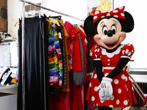 Minnie Mouse Was The Best Celeb Cameo At New York Fashion Week