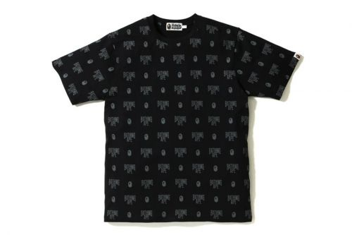 BAPE Revives Its Monogram Print With Tees and Caps