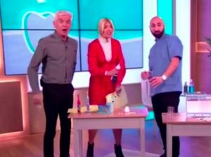 Something Really Embarrassing Happened To Holly Willoughby On This Morning