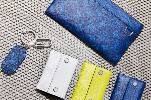 Louis Vuitton Debuts New Taïgarama Leather Goods Line