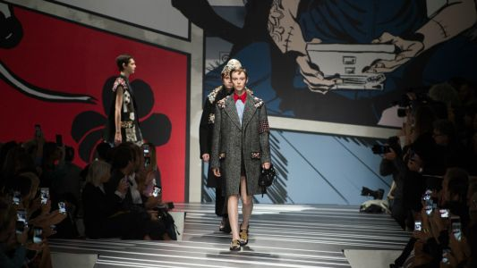 Prada Sent a Punky Band of Rockstars Down Its Spring 2018 Runway