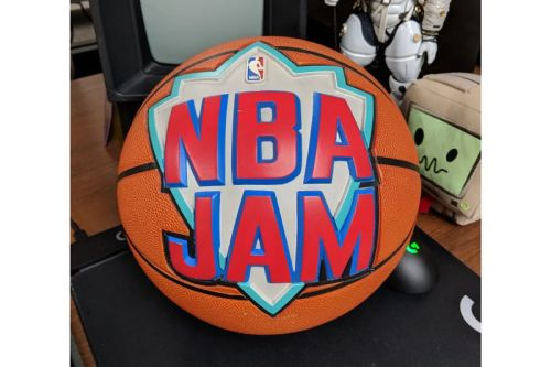 Retrospect: Here's a Look at the Actual Basketball from the Cover of 'NBA JAM'