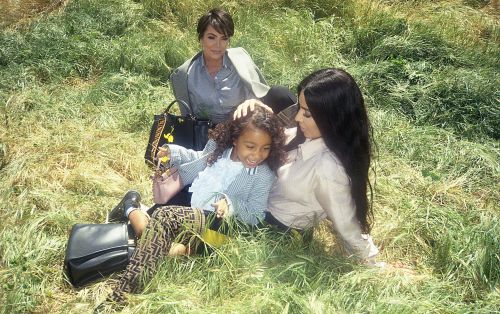 At 5 years old, North West stars in her first fashion campaign
