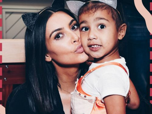 Kim Kardashian Has 2 Makeup Rules For North West