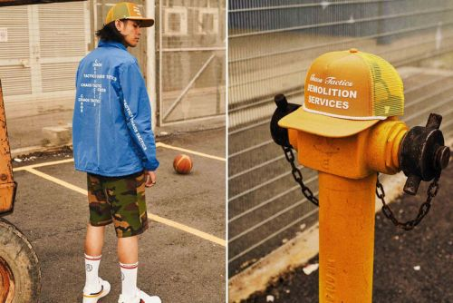 "AGAINST LAB Delivers Basketball-Inspired ""Chaos Tactics"" Spring/Summer 2018 Collection"