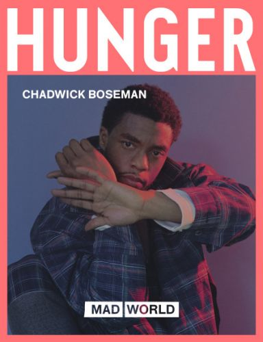 Preview Chadwick Boseman's Hunger 13 cover