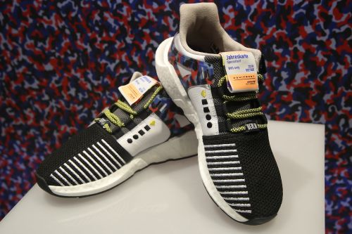 These sneakers come with free subway travel for a year