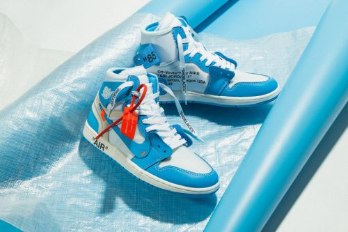"""Take Another Detailed Look at the Off-White™ x Air Jordan 1 """"UNC"""""""