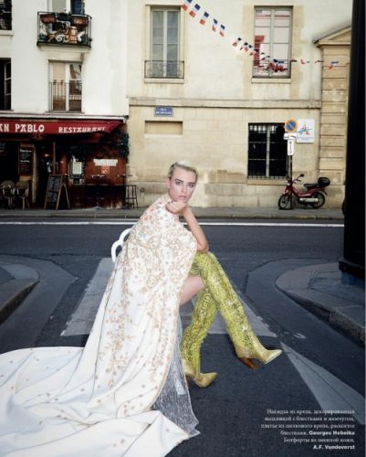 A journey into couture in Paris - Milou Van Groesen in GEORGES