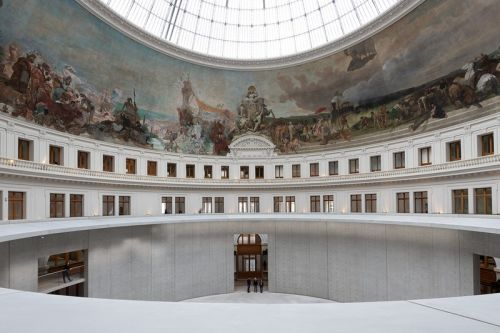 Tadao Ando's Bourse de Commerce Redesign in Paris Announces Opening