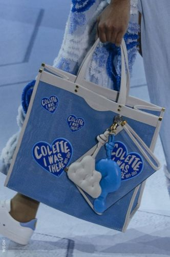 Falling in love with this AnyaHindmarch bag, an ode to Colette
