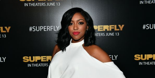 """'RHOA' Star Porsha Williams Reveals She """"Found a Man"""" on Andy Cohen's 'Love Connection'"""