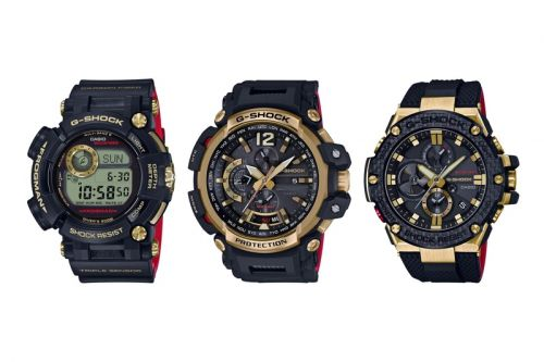 "G-Shock Unveils Gold & Black ""Gold Tornado"" Collection"