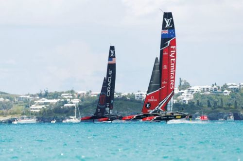 The 35th America's Cup: No Second Place