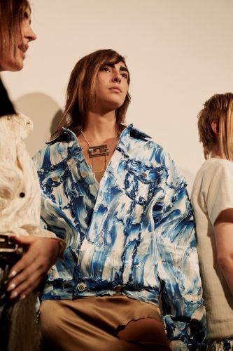 Faustine Steinmetz brings reworked denim to the runway