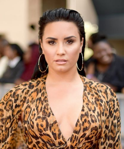 Demi Lovato Just Low-Key Flashed Her Nipple Piercing